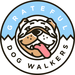 Grateful Dog Walkers Logo